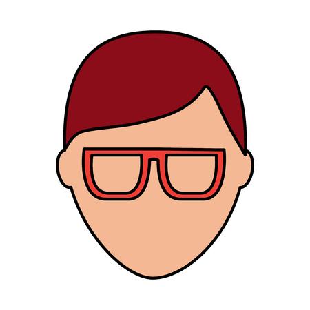 standaard mannelijke avatar man profielfoto pictogram vector illustratie Stock Illustratie