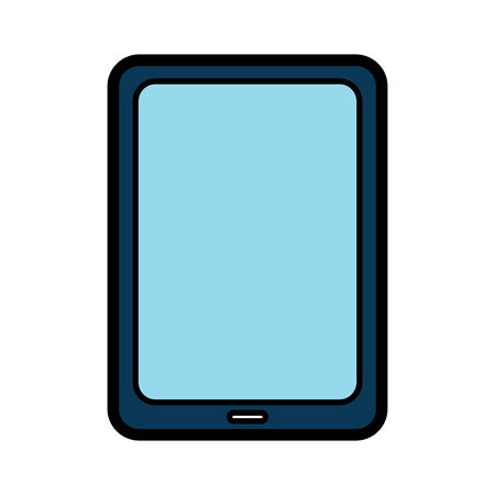 tablet gadget device icon image vector illustration design