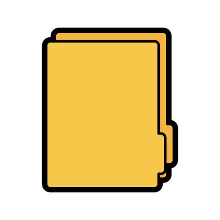 file folder icon image vector illustration design