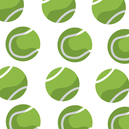 tennis ball pattern image vector illustration design