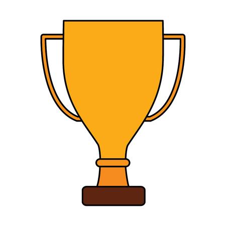 trophy cup icon image vector illustration design Stock fotó - 92186272