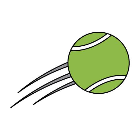 tennis ball icon image vector illustration design
