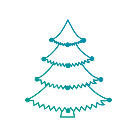 pine tree plant icon vector illustration design Illustration