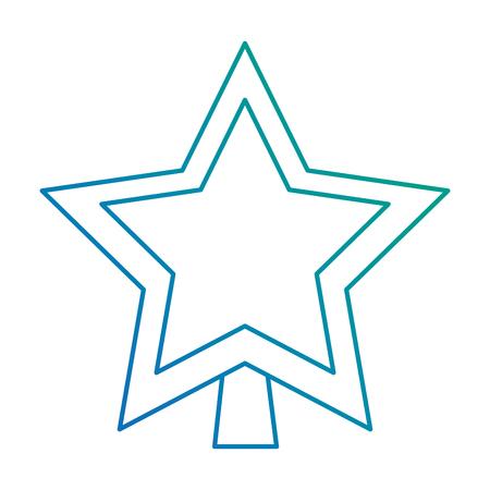 star decorative isolated icon vector illustration design 版權商用圖片 - 92201093