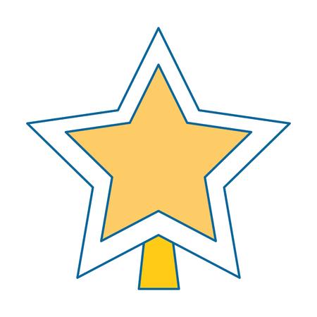 star decorative isolated icon vector illustration design