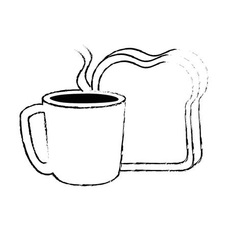 Kaffeetasse-Symbol Standard-Bild - 92239800