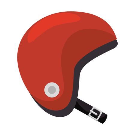 Motorcycle helmet classic icon illustration design. Illustration