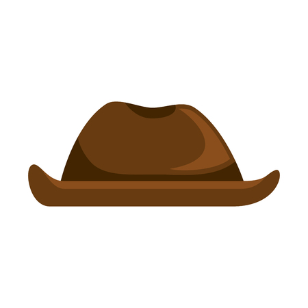 Cowboy hat isolated icon vector illustration design