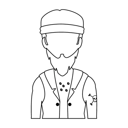 Motorcyclist icon.