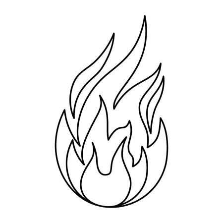 炎のアイコン。