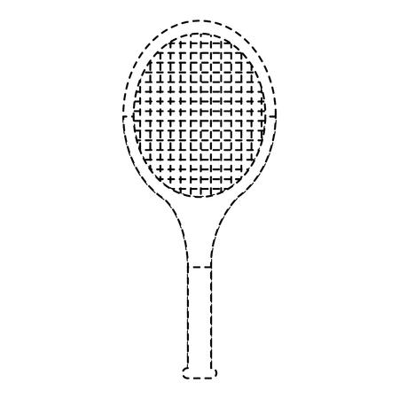테니스 라켓 일러스트