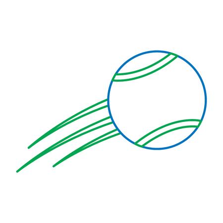 tennis ball icon image vector illustration design Reklamní fotografie - 92274201