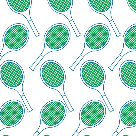 tennisrackets patroon afbeelding vector illustratie ontwerp