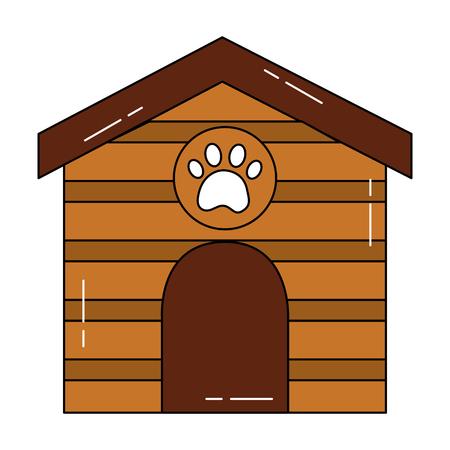 Progettazione dell'illustrazione di vettore di immagine dell'icona della casa dell'animale domestico Archivio Fotografico - 92272970