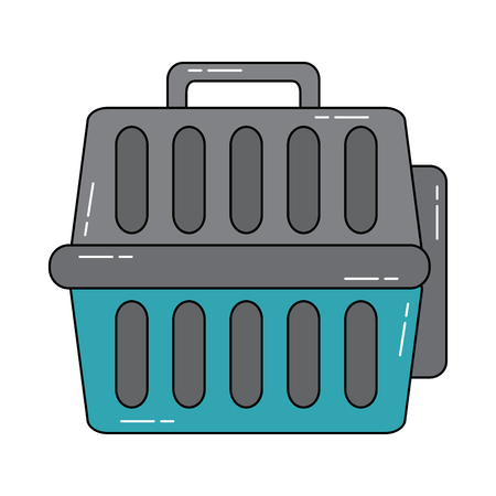 pet transporter  icon image vector illustration design