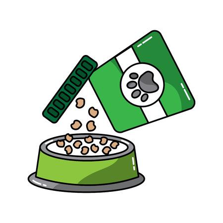 food bowl pet icon image vector illustration design