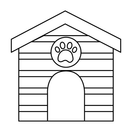 pet house  icon image vector illustration design  Ilustração