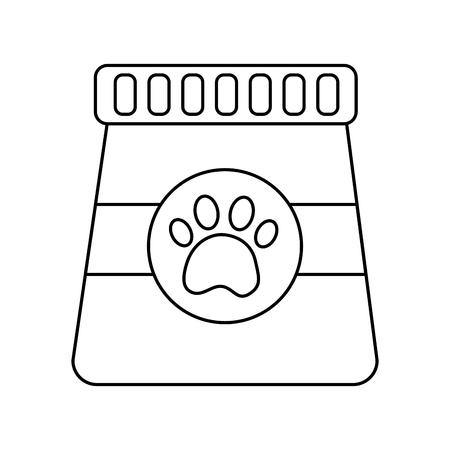 병 애완 동물 아이콘 이미지 벡터 일러스트 디자인 일러스트
