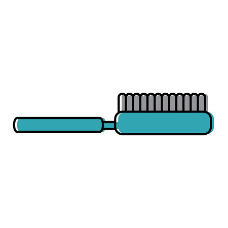 Brush pet accessory clean icon illustration. 向量圖像