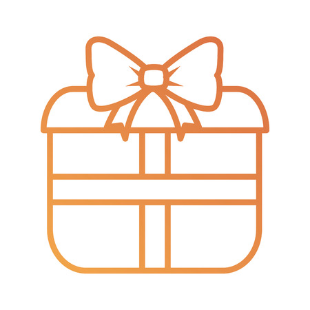 Gift box present icon vector illustration design Illustration