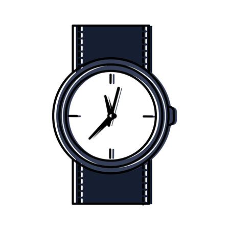 ラウンド腕時計アクセサリータイムファッションアイコンベクトルイラスト