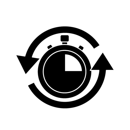 fast delivery serving timer icon vector illustration Illustration
