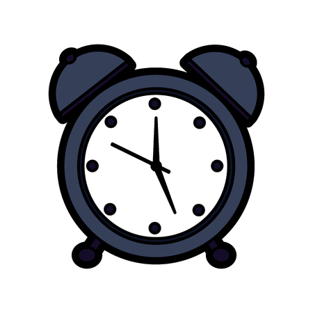 Alarm clock icon illustration.