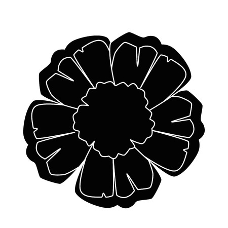 이국적인 열 대 꽃 벡터 일러스트 디자인 스톡 콘텐츠 - 92282293
