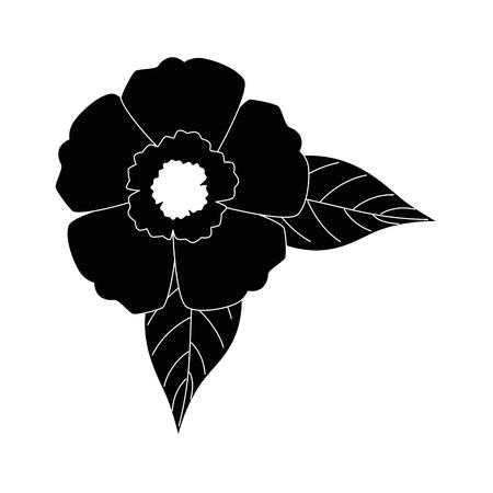 이국적인 열 대 꽃 벡터 일러스트 디자인 스톡 콘텐츠 - 92282564