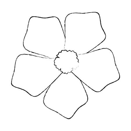 エキゾチックで熱帯の花ベクトルイラストデザイン 写真素材 - 92283201