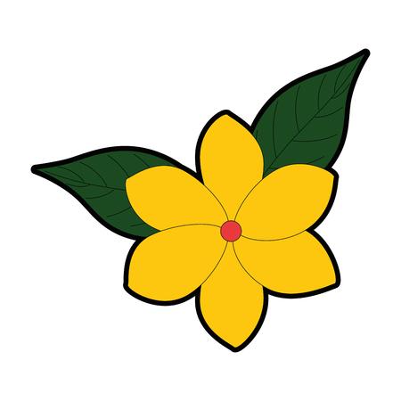 エキゾチックで熱帯の花ベクトルイラストデザイン 写真素材 - 92284563