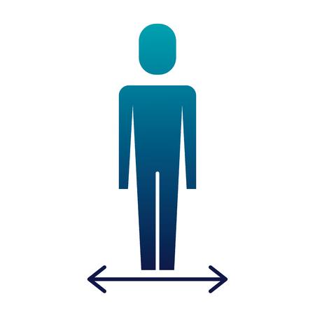 Businessman character vector illustration Illustration