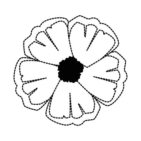 エキゾチックで熱帯の花ベクトルイラストデザイン  イラスト・ベクター素材