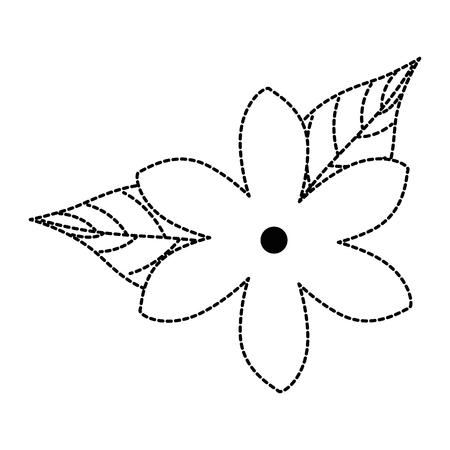 エキゾチックで熱帯の花ベクトルイラスト