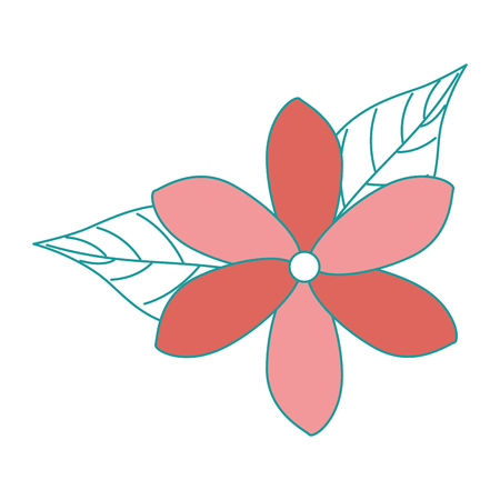 exotic and tropical flower vector illustration design 版權商用圖片 - 92284421