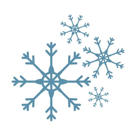 雪片分離アイコンベクトルイラストデザイン  イラスト・ベクター素材