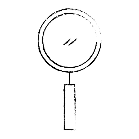magnifier search vector illustration Stock Vector - 92474314