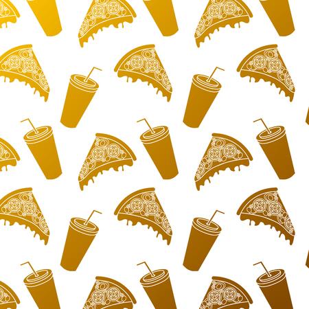 피자와 소다 패턴.