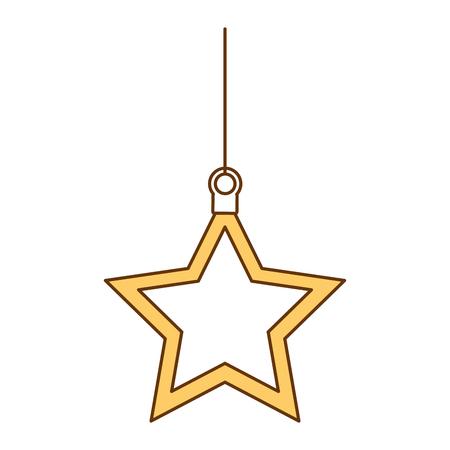 Weihnachtsstern dekorative Symbol Vektor-Illustration , Design , Standard-Bild - 92366572