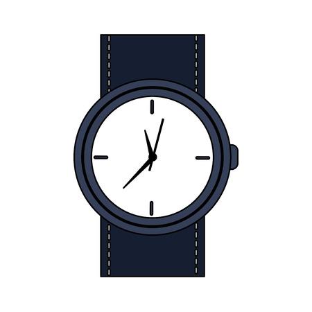 watch time icon image vector illustration design  Illustration
