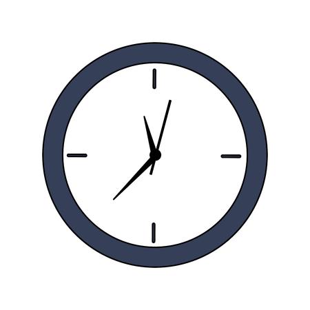 clock time icon image vector illustration design