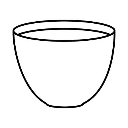 Vaso di fiore con progettazione dell'illustrazione di vettore della terra. Archivio Fotografico - 92498479