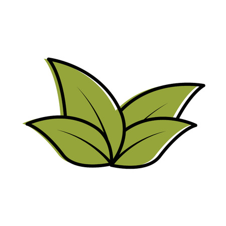 plants cultivated isolated icon vector illustration design Çizim