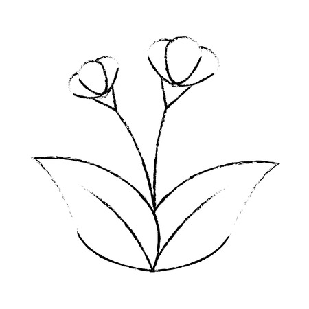 cute flower garden icon vector illustration design Stock fotó - 92370402