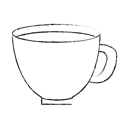 Pot de fleur avec la conception d'illustration vectorielle terre Banque d'images - 92370377