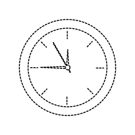 clock icon vector illustration Illustration