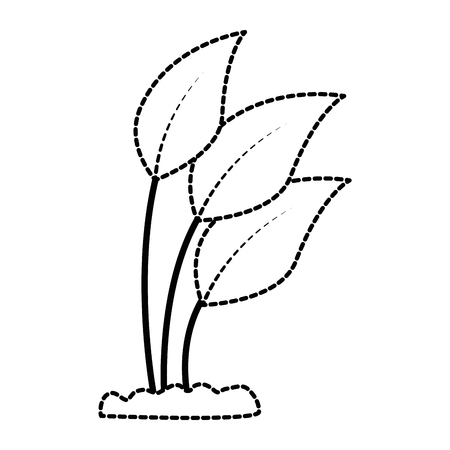 Cultivated plant isolated icon illustration design.