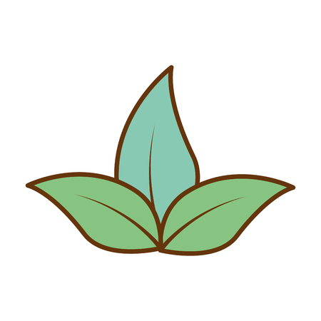 Plants cultivated isolated icon illustration design. Çizim