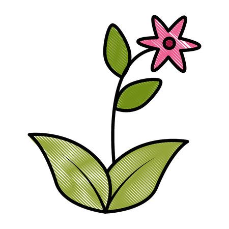 Cute flower garden icon illustration design. Stock Vector - 92398812