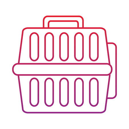 pet transporter  icon image vector illustration design 向量圖像